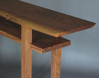 Schwebende Regale schwebende regale schmalen konsole tisch für mokuzaifurniture