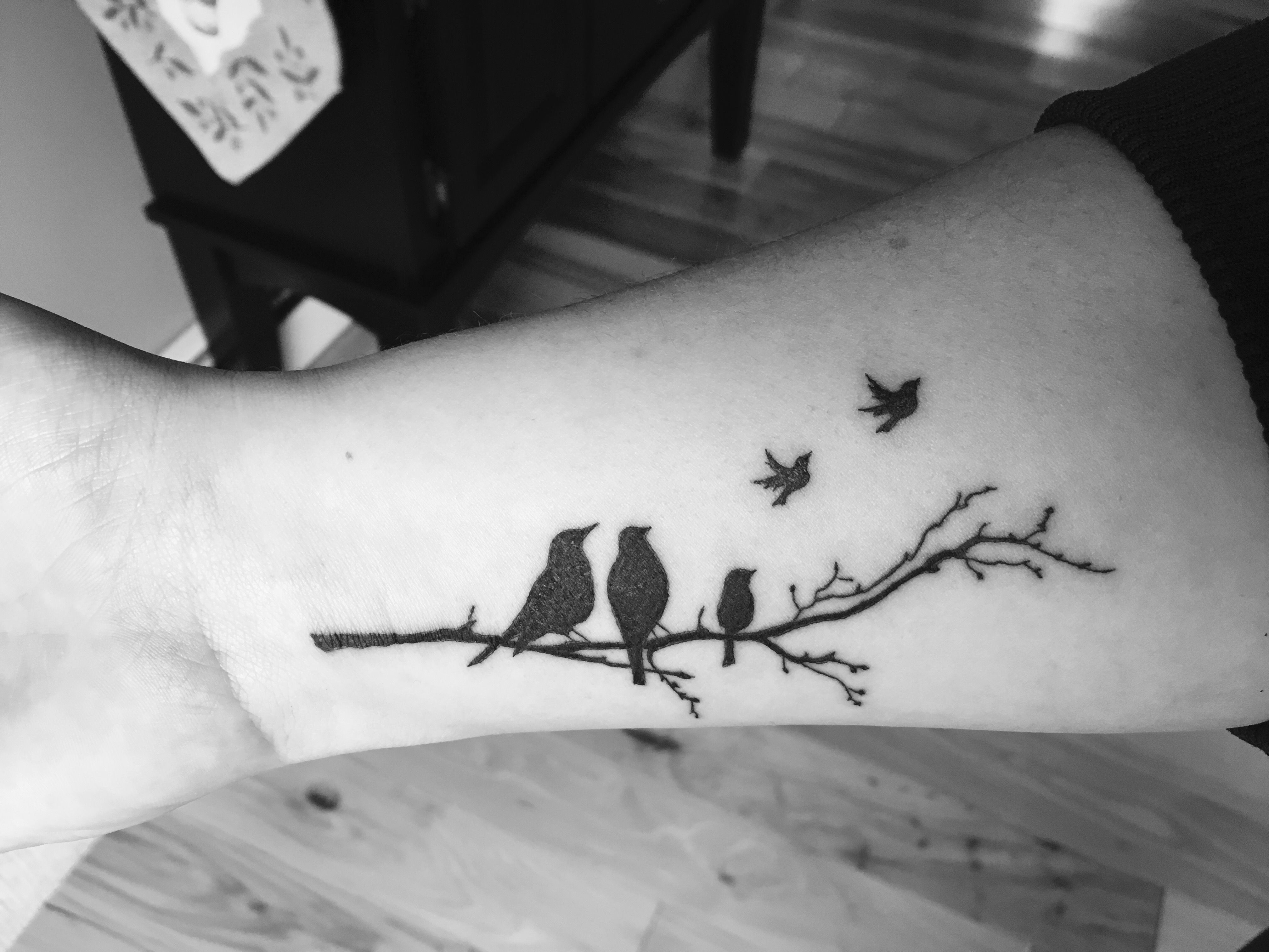 My tattoo for my angel babies miscarriage tattoo tattoos