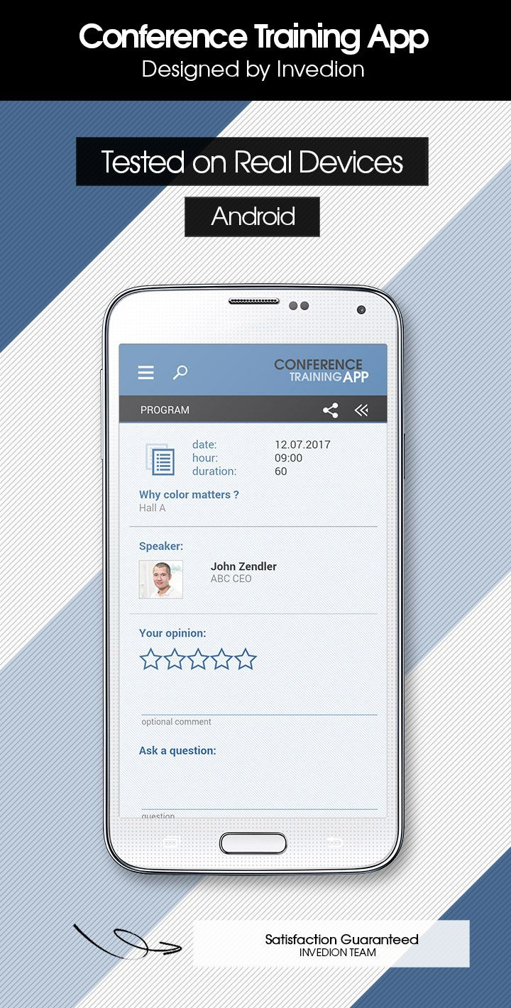 Conference Training App With CMS Android [ AdMob & Push