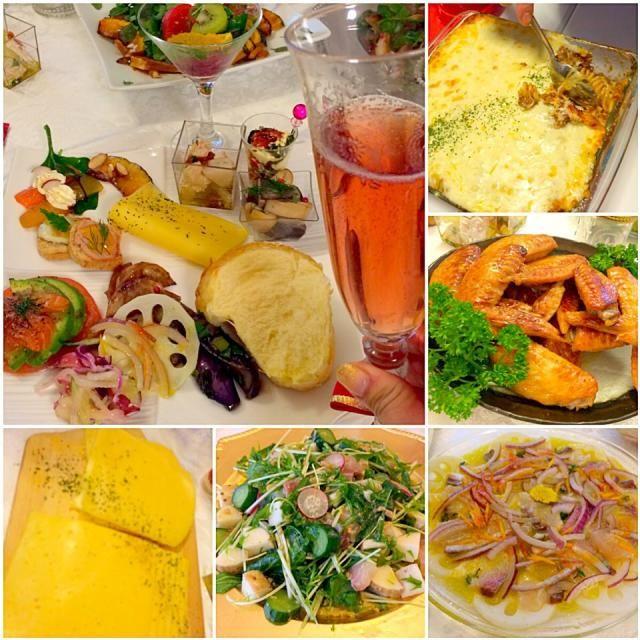ふっわふわとぉっても美味しい富士子さんのパンとどれも美味しいまあやさんのお料理沢山で幸せ〜˖˚ ͙ෆ*( ໊੭ु˃̶͈౿˂̶͈)੭ु⁾⁾ - 72件のもぐもぐ - Delicious dishes by mayalabeille18まあやさんの美味しいお料理の数々❗ by Ami
