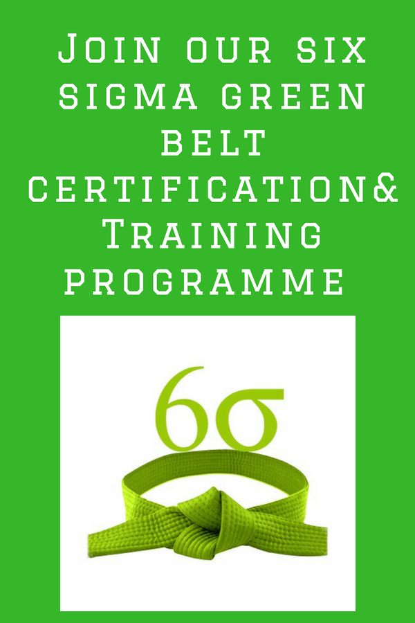 Berry Infotech Provide Online Six Sigma Green Belt Certification