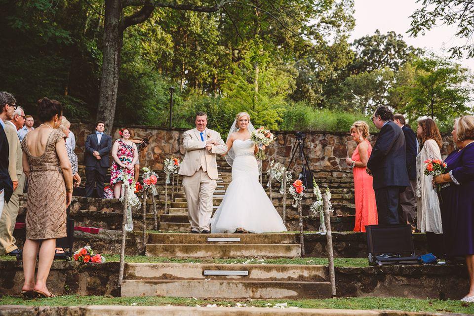 Wedding Aisle Avondale Park