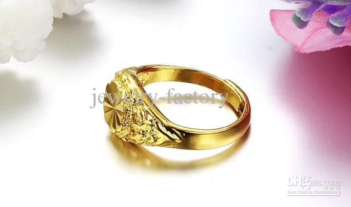 New Chinese Wedding Ring With Traditional Chinese Wedding Ring 18k Gold Plating Jewellery Adjustable Wedding Ring 18k Wedding Rings Traditional Chinese Wedding