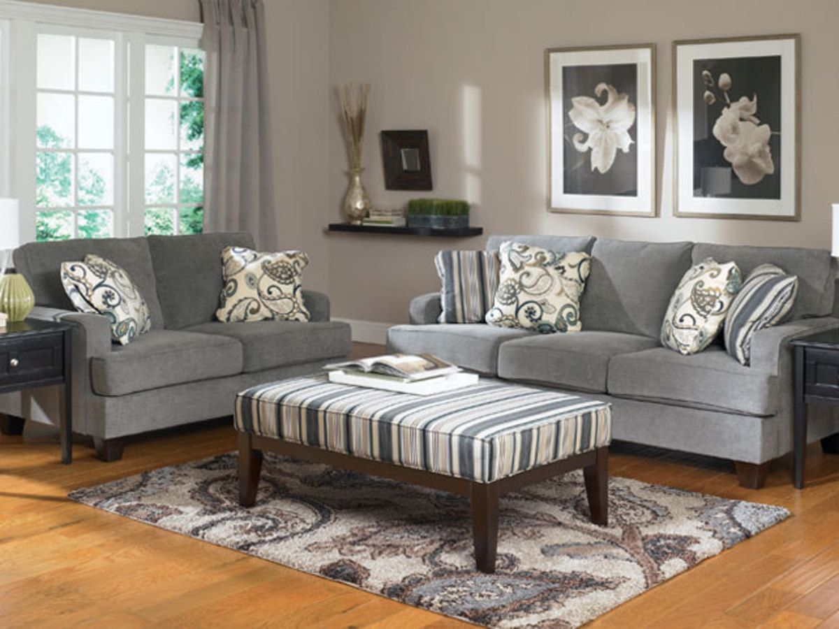 Ashley Furniture Egypt Homna Grey Furniture Living Room