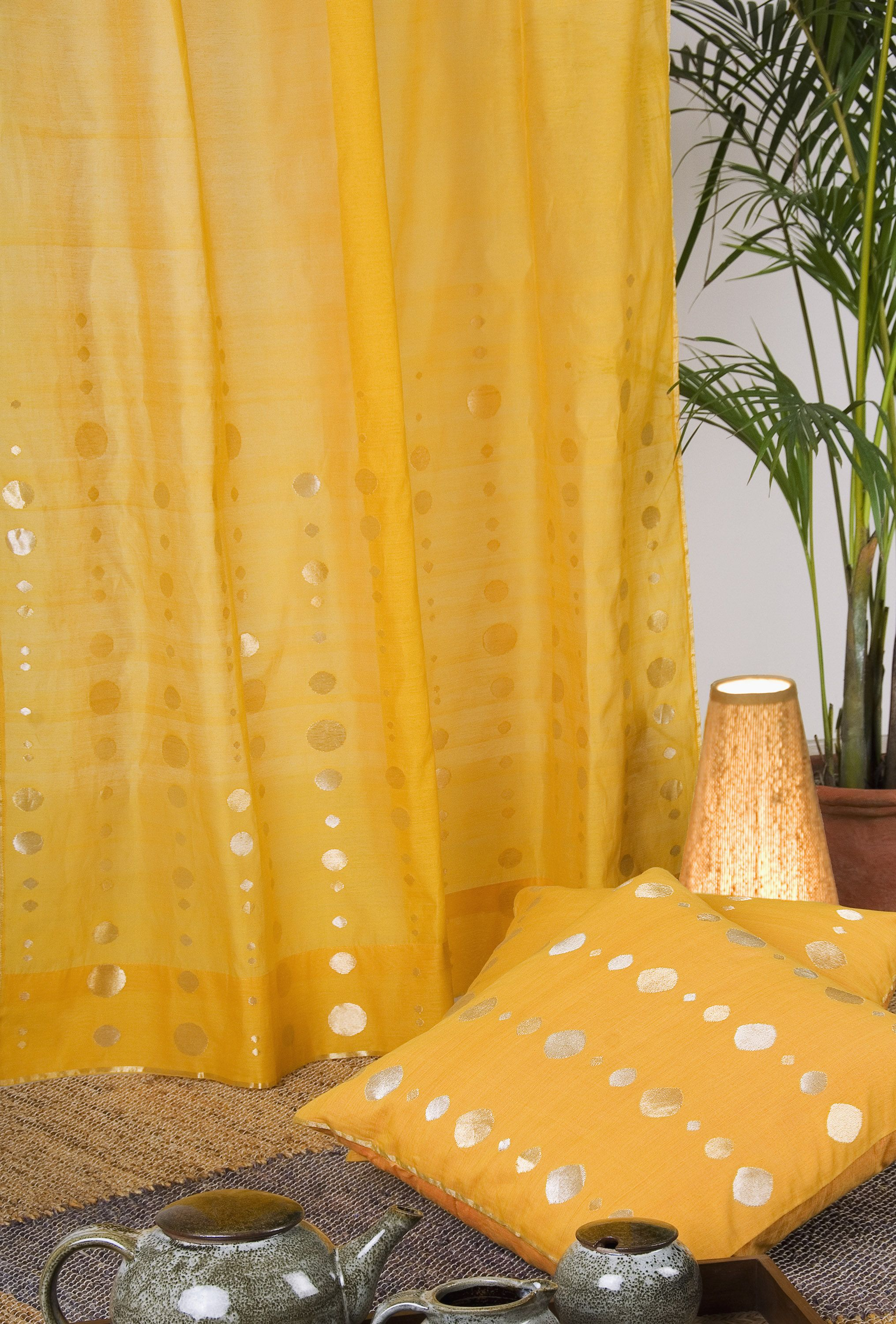 Indian Summer Color Curtain Indian Living Rooms Indian