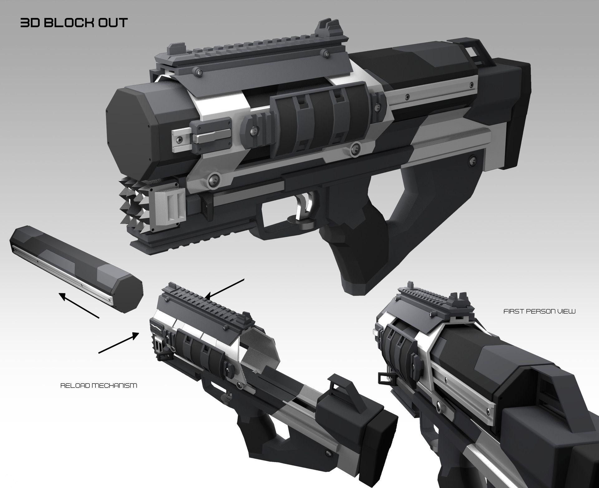 Pin On Sci Fi Weapons