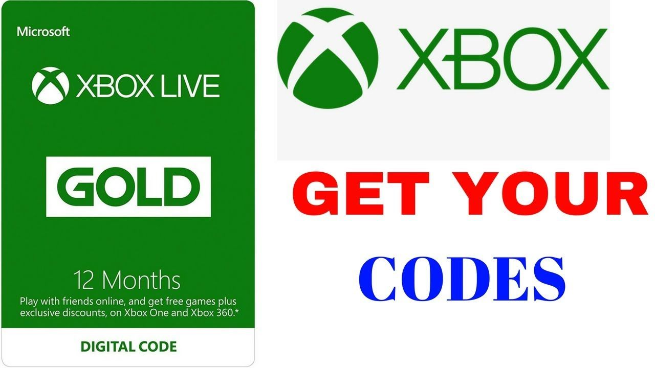 Live Proof In 2018 Xbox Gift Cards