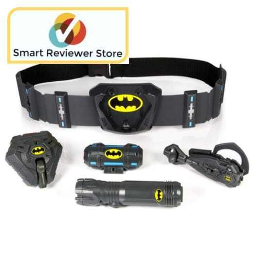 Spy Gear Batman Ultimate Utility Belt Toy Bundle Listener Light