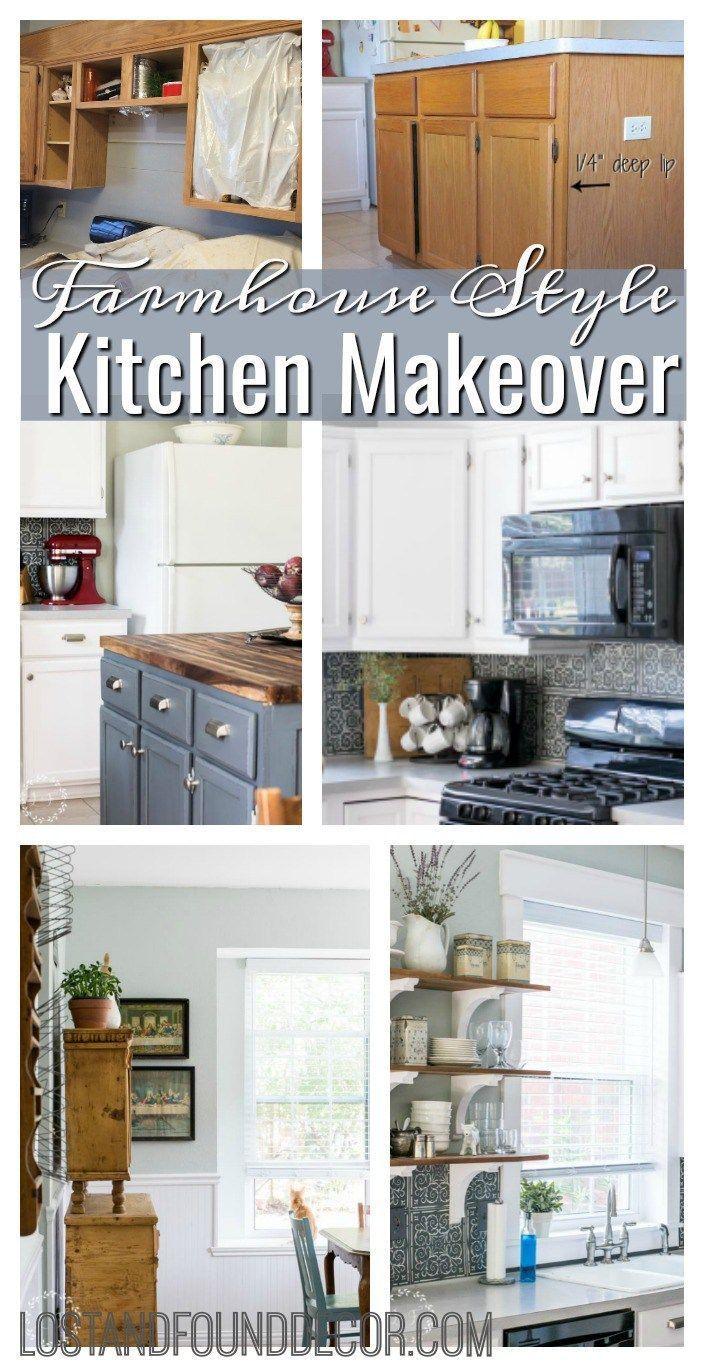 Kitchen make overs  DIY Interior Window Trim and Kitchen Makeover Reveal  Interior