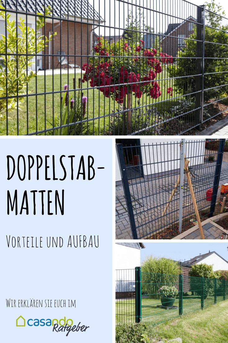 Doppelstabmatten Vorteile Und Eigenschaften Casando Ratgeber Doppelstabmatten Garten Vorgarten Zaun