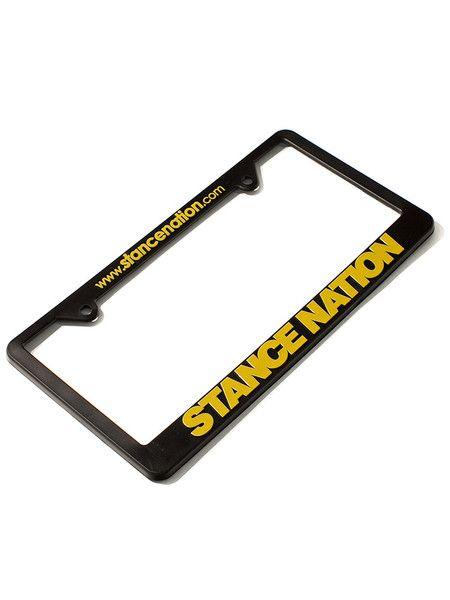 StanceNation License Plate Frames | Subi Wish List | Pinterest ...