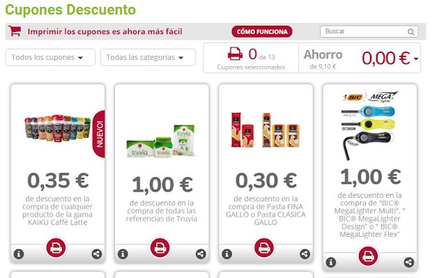 Descuentos Imprimibles Supermercados Cupones Descuento Cupones Ahorrar Dinero