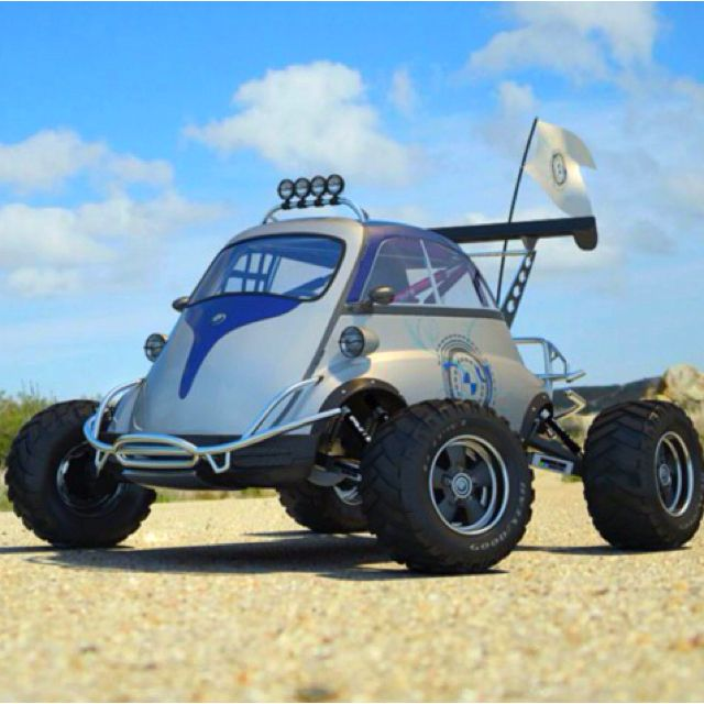 BMW Isetta dune buggy the definition of awesomeness in this
