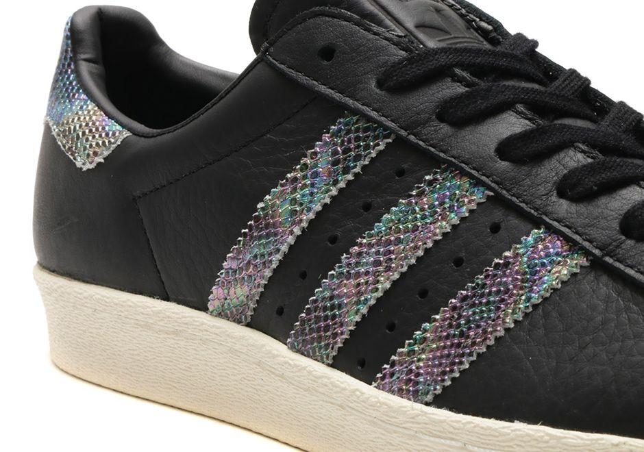 Snake skin shoes, Adidas superstar
