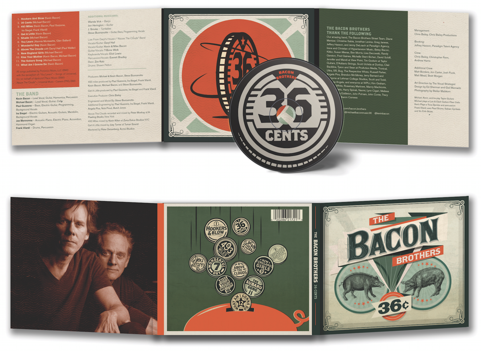 11 Contemporary Design Projects with Vintage Graphic Style
