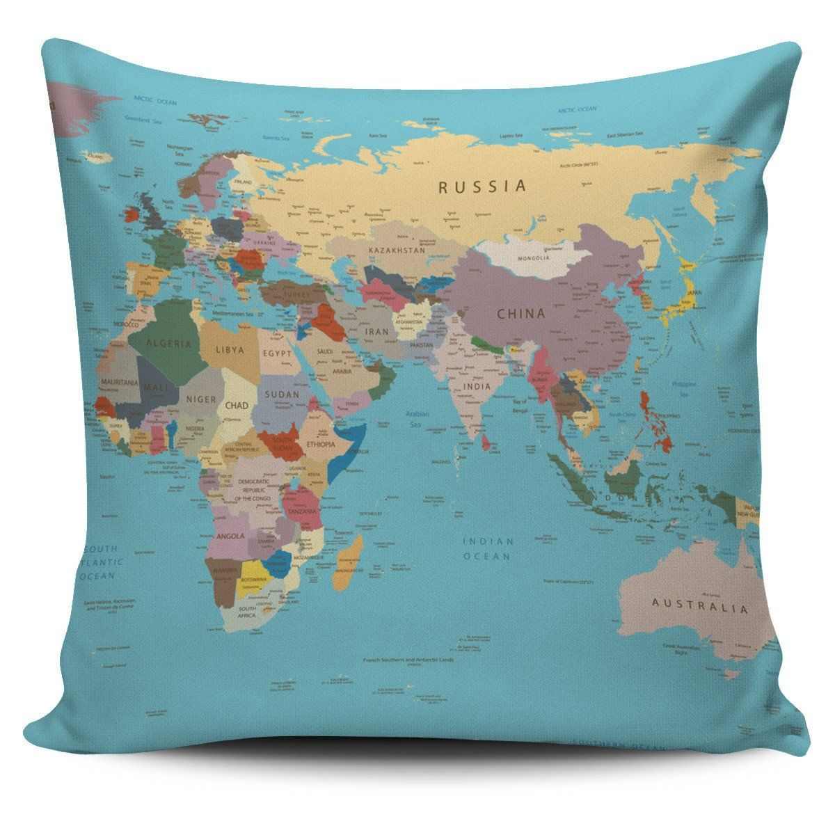 6 star master bedroom  World Map Pillow Cover  Products  Pinterest  Pillows and Products