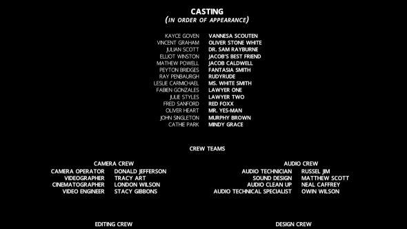 film credits in 2018 neffy pinterest film filmmaking and