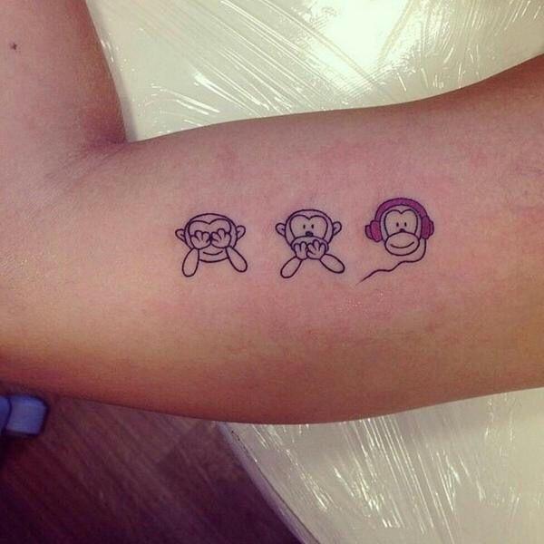 Tatuaje Monos Tatuajes Preciosos Tatuajes Tatuajes De Monos