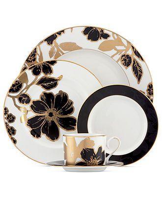 Lenox Dinnerware, Minstrel Gold Collection - Fine China - Dining & Entertaining - Macy's