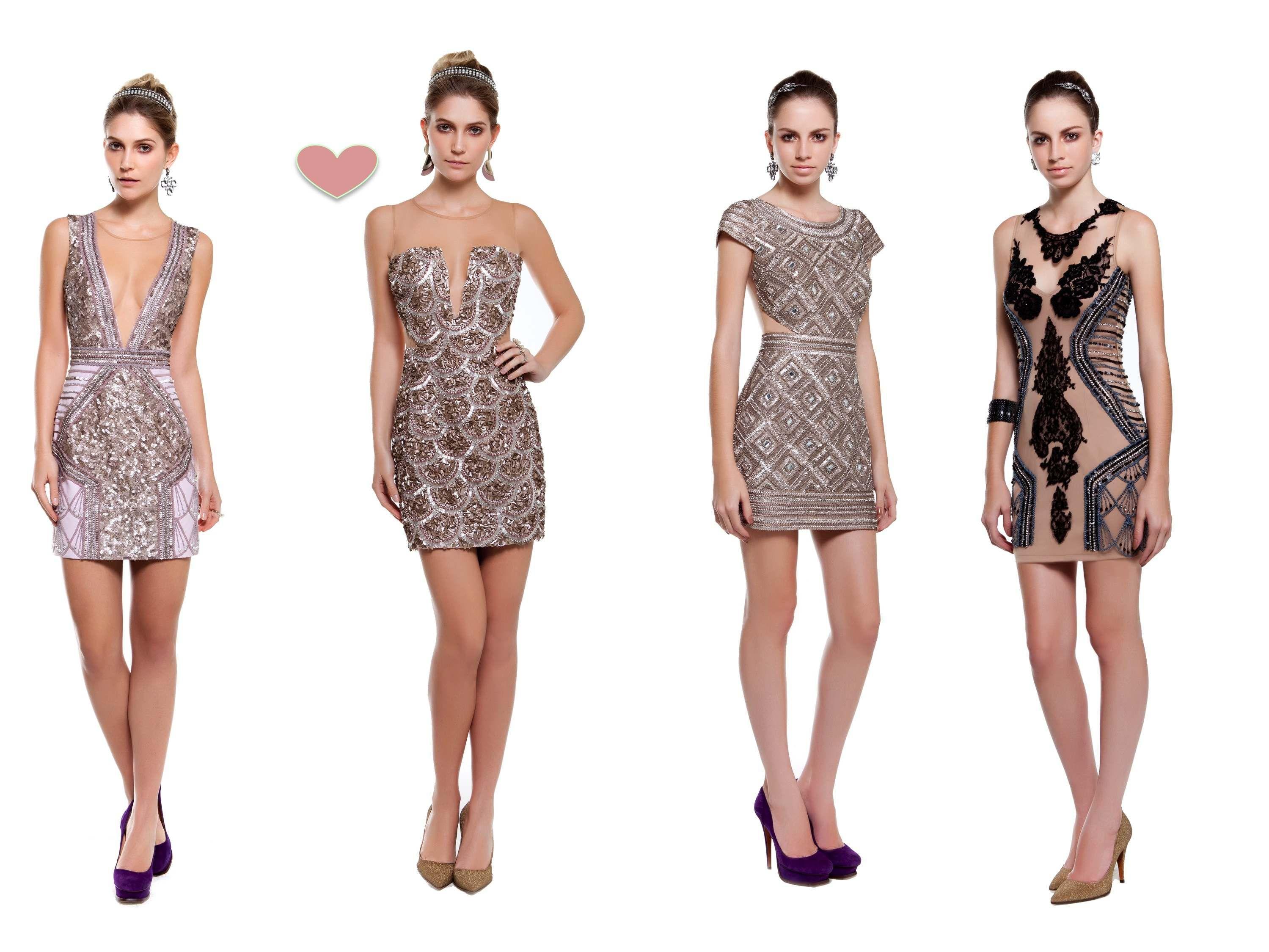 Vestidos de festa curto de renda 2013