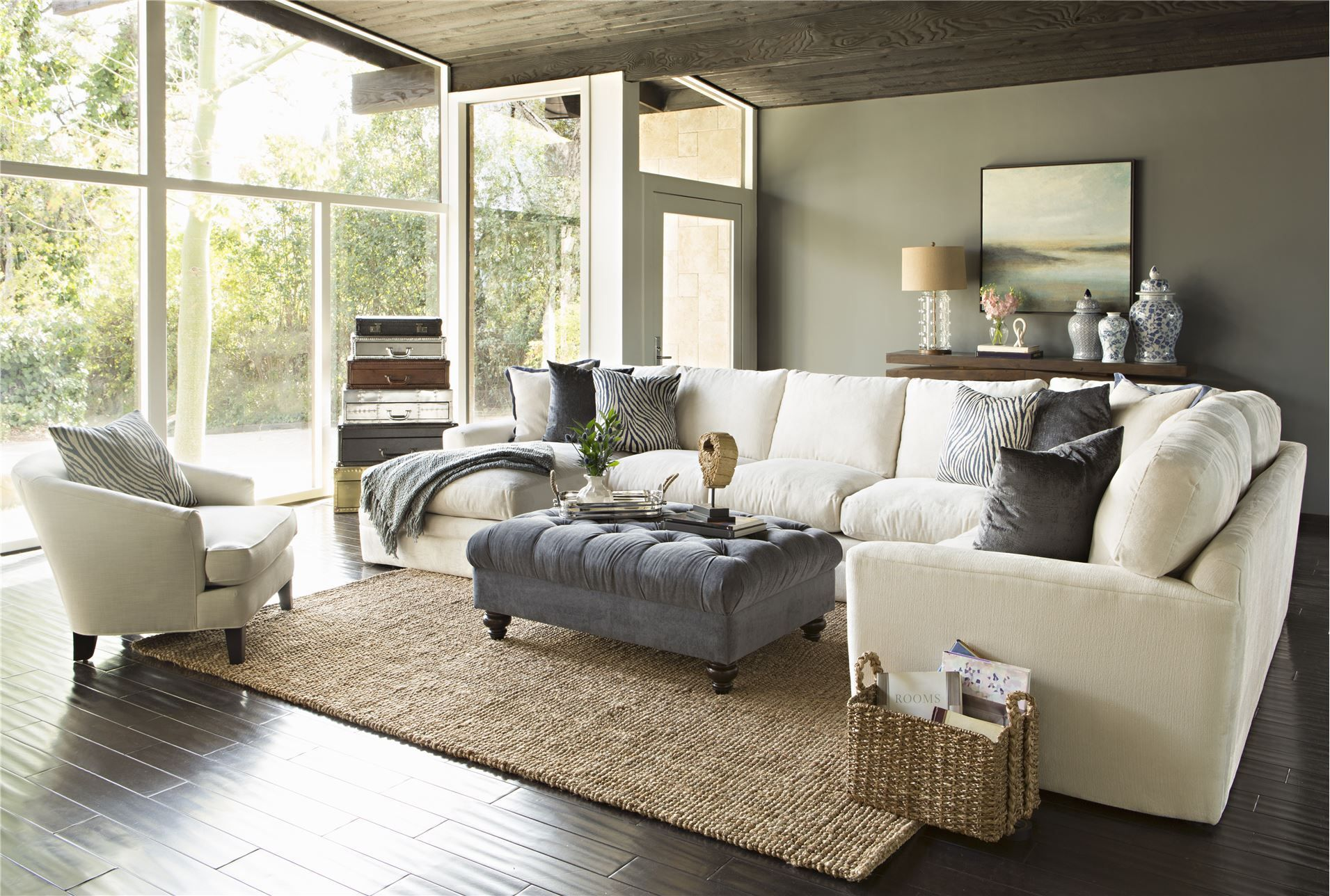Glamour 3 Piece Sectional - Living Spaces   Living spaces ...