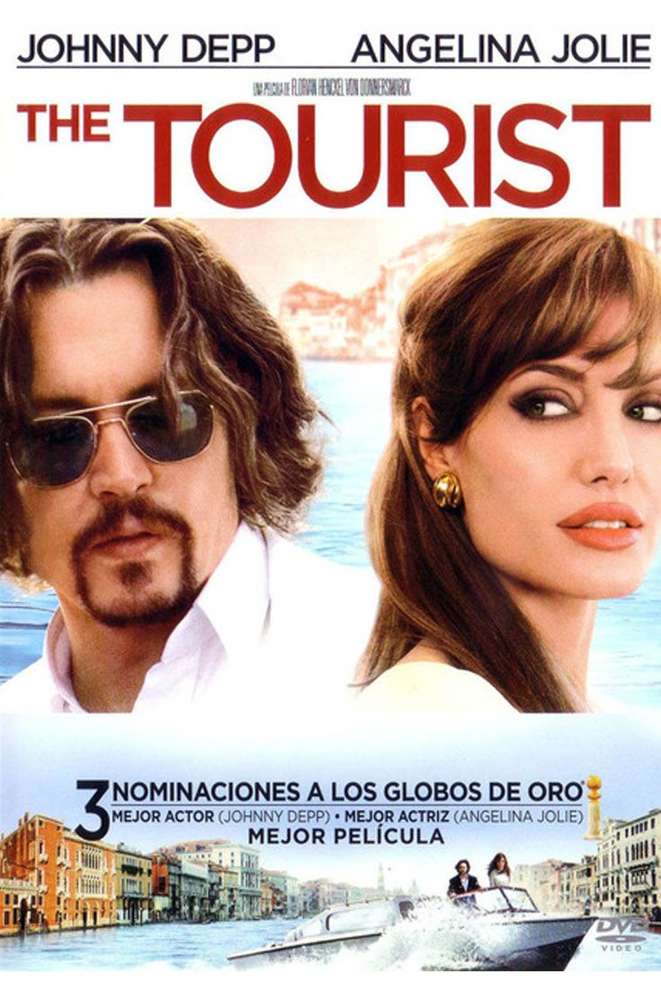 The Tourist Venecia Peliculas Peliculas Cine Johnny Depp Angelina Jolie