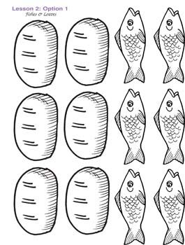 picture regarding Printable Loaves and Fishes referred to as colour sheet of 2 fish and 5 l Child Downloadable