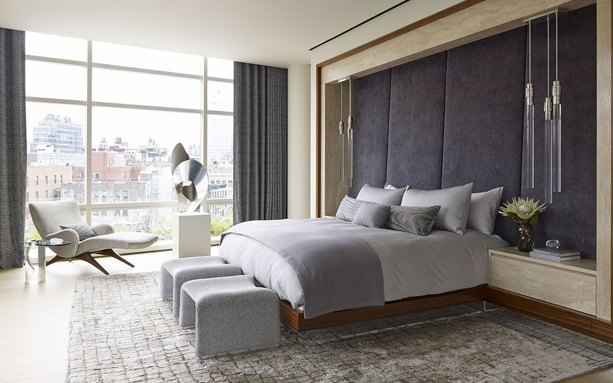 Contemporary Bedroom In New York Ny By Amy Lau Design Contemporary Bedroom Bedroom Interior Bedroom Inspirations