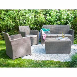 Coffee Set Corona 1 Canape 2 Fauteuils 1 Table Basse Castorama