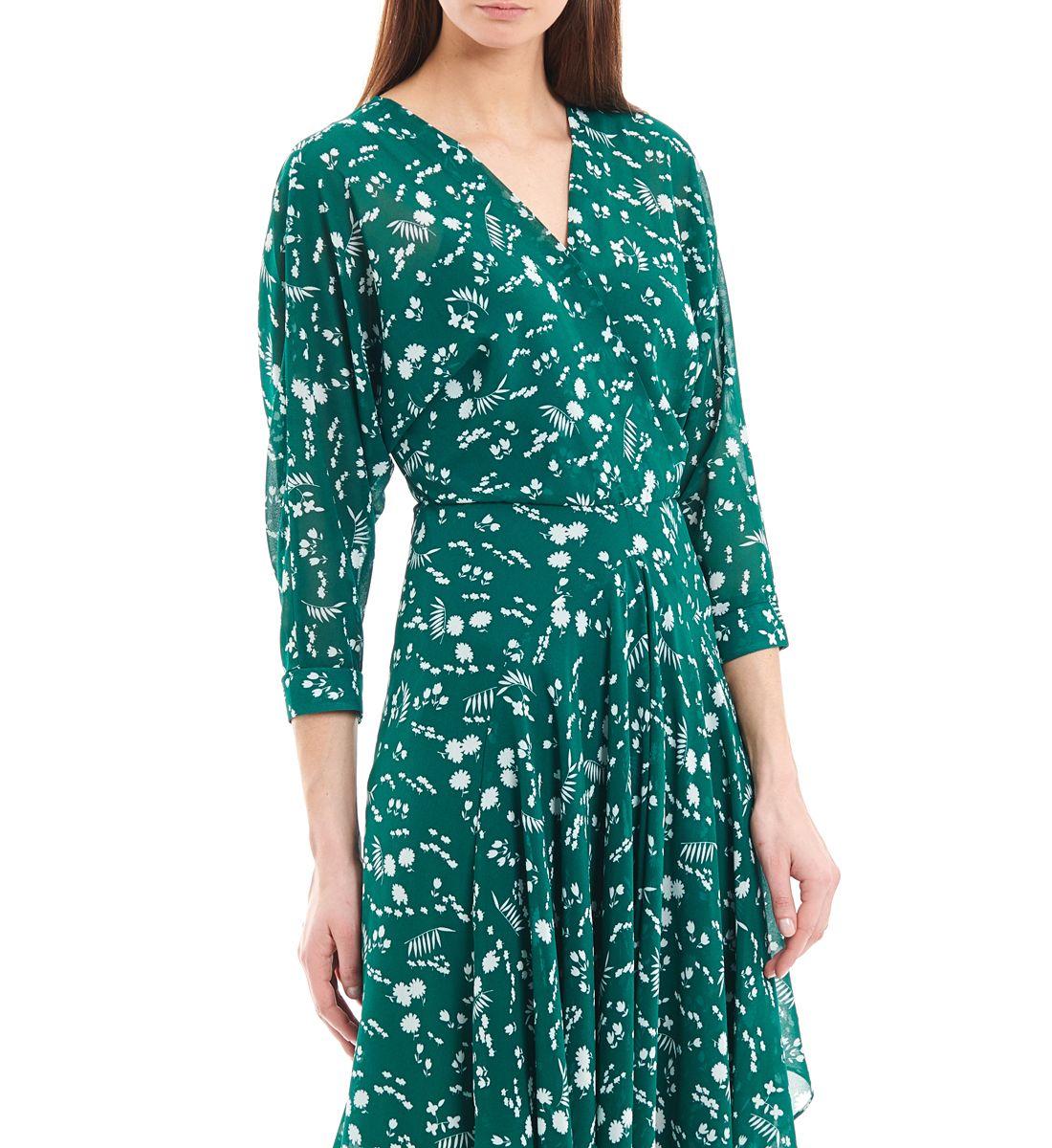 Galeries Femme Vert Pour Robe Rubis En Maje LafayetteOutfits lFKJT1c