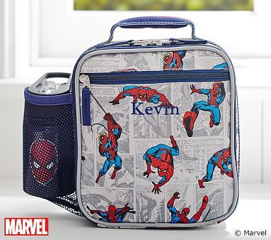 Spider Man Classic Lunch Bag Pbkids Lunch Bag Boys