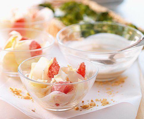 Chicoréesalat mit Grapefruits - Rezept - Saisonküche