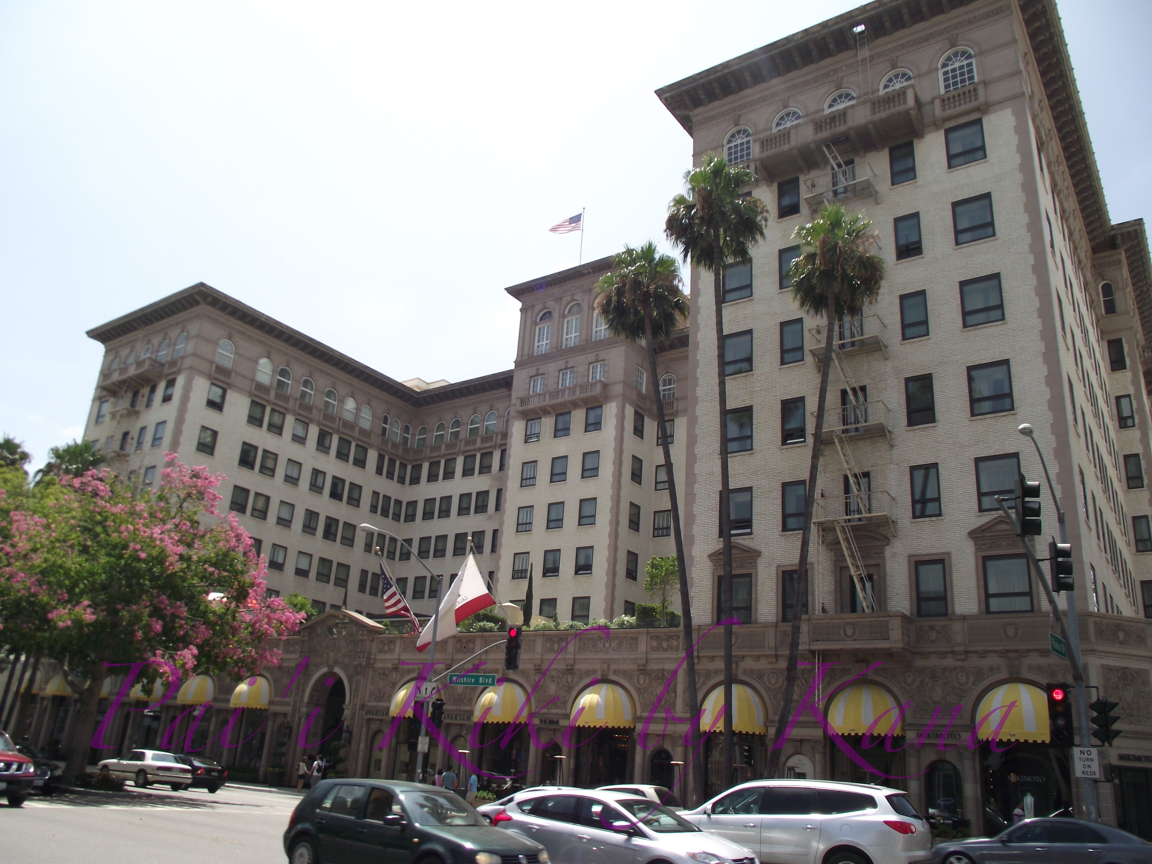 The Hotel Where Pretty Woman Was Filmed In Beverly Hills California Off Rodeo Drive