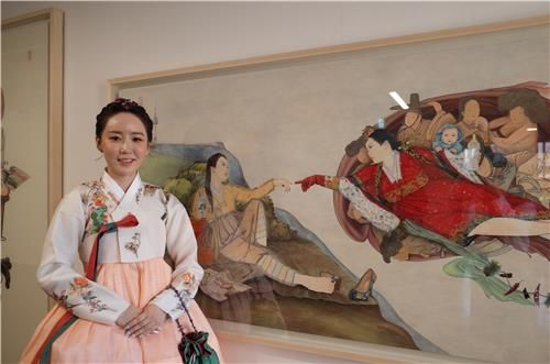 Kim Hyun-jung, a pioneering pop artist of traditional Asian painting in Korea