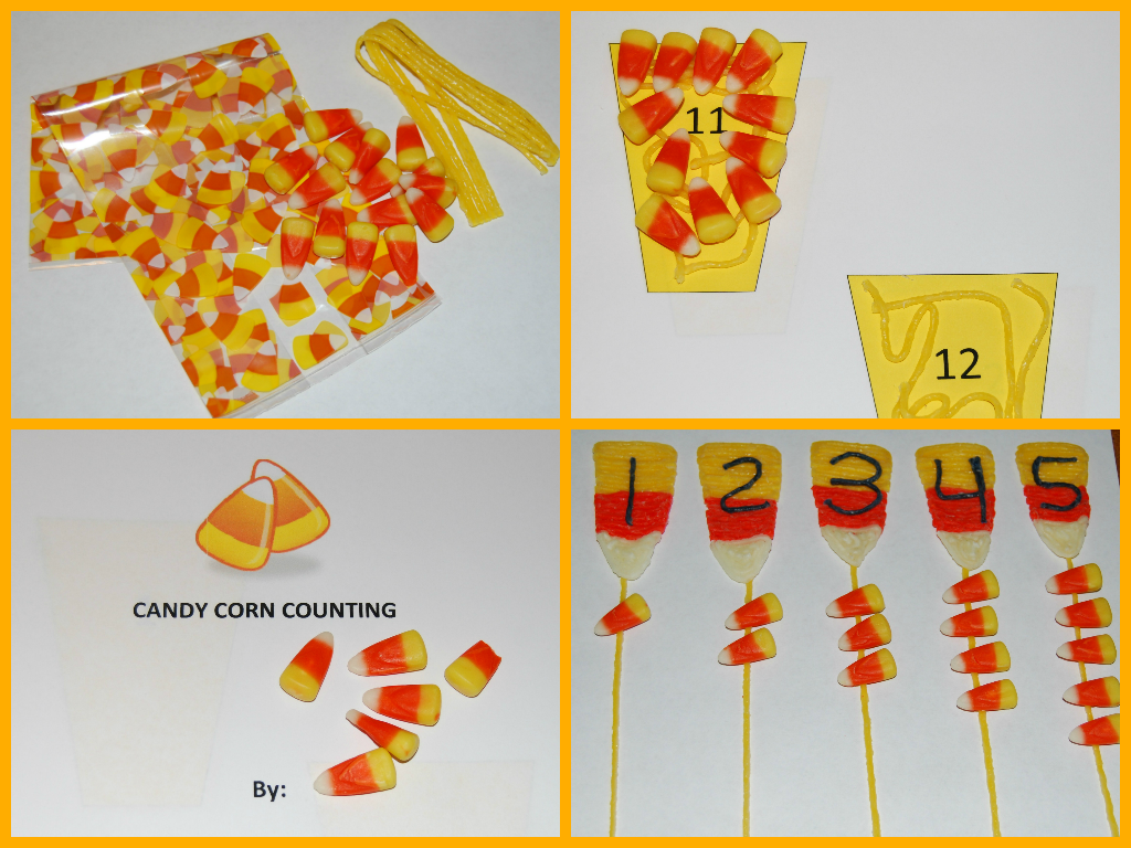 Candy Corn Counting For Young Kids