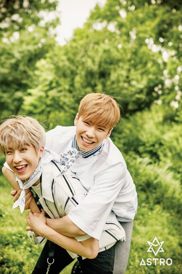 Astro 2nd MINI ALBUM 'SUMMER VIBES' 1st #CONCEPT#PHOTOS - JinJin & Rocky