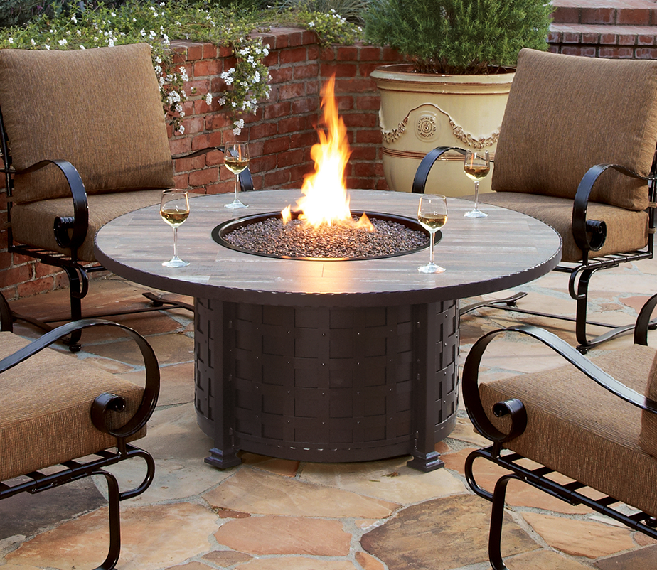 New Classico Fire Pit by OW Lee - New Classico Fire Pit By OW Lee Wrought Iron Patio Furniture