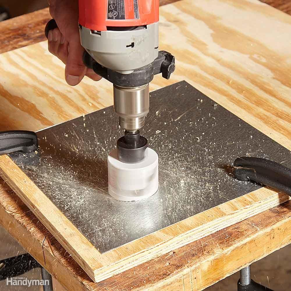 12 Tips For Drilling Holes In Metal Metal Storage Sheds Drill Drilling Holes