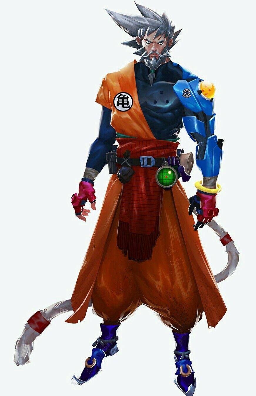 redesign old goku