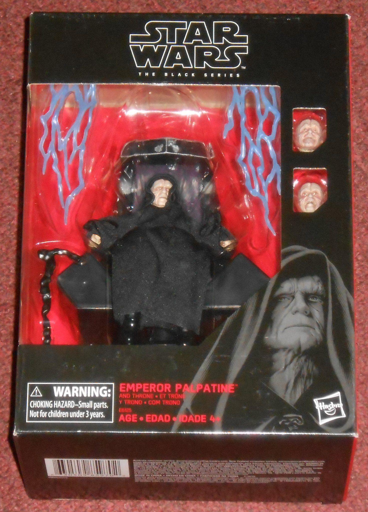 Hasbro Star Wars Black Series Emperor Star Wars Black Series Star Wars Set Star Wars Toys