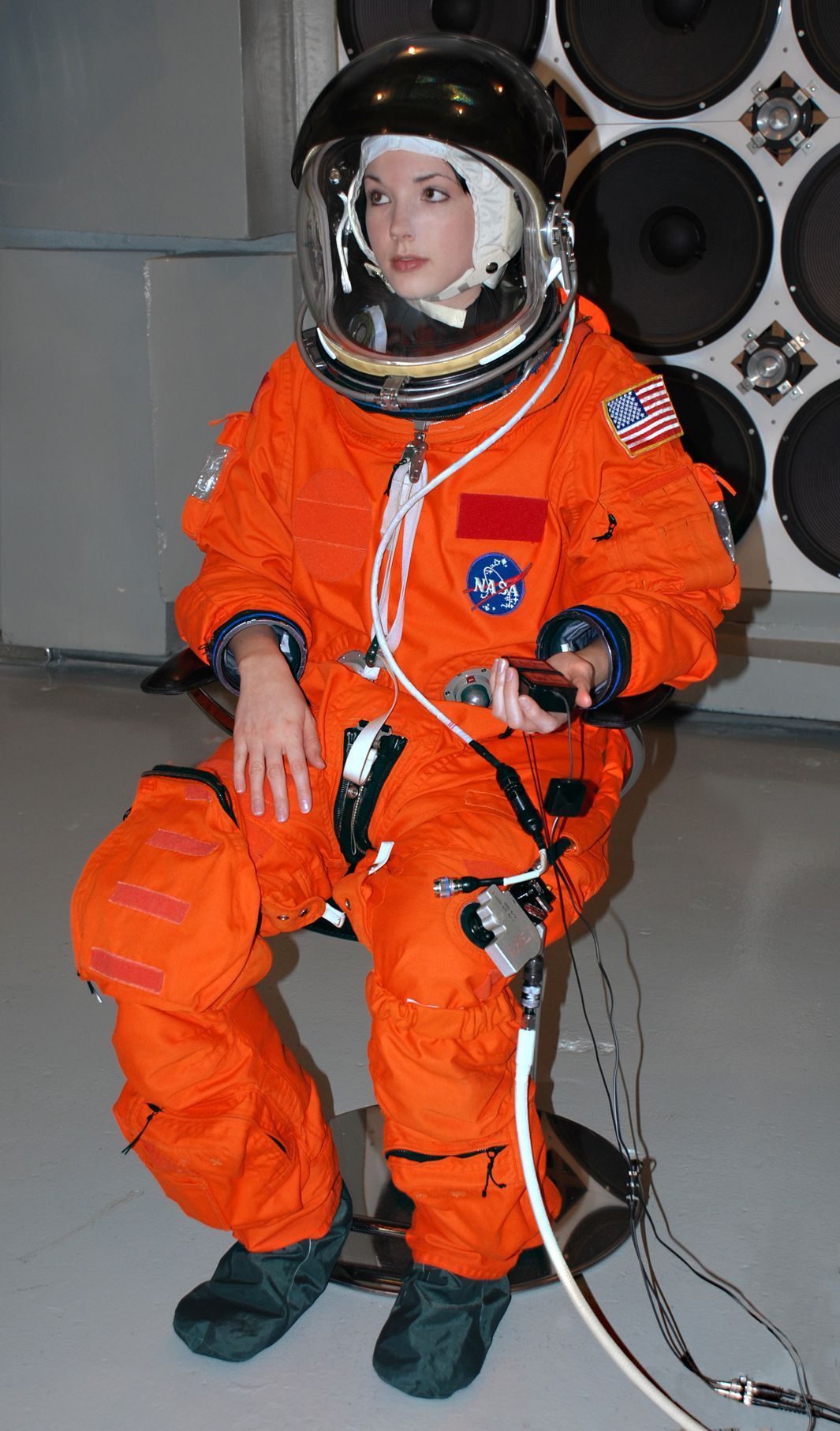 NASA Shuttle Launch/Entry pressure suit (used post ...