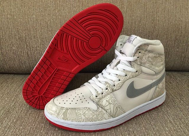 Air Jordan High 1 Lavage Au Laser