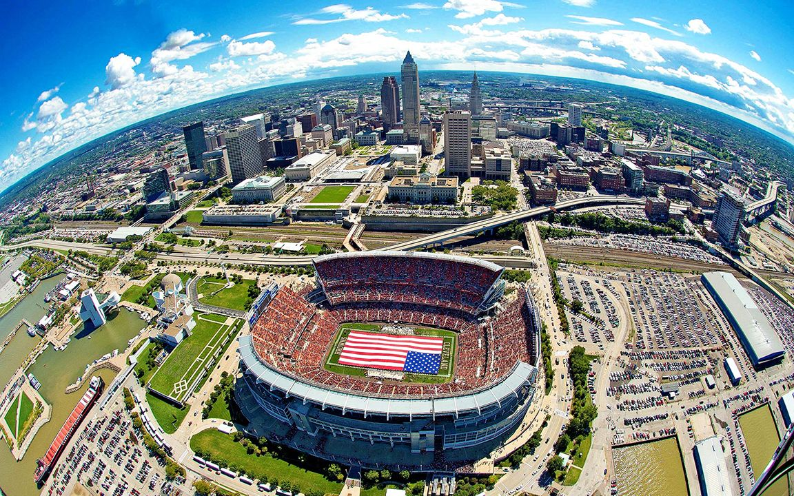FirstEnergy Stadium, Cleveland - Cleveland Browns (NFL) - Capacity: 73 ...