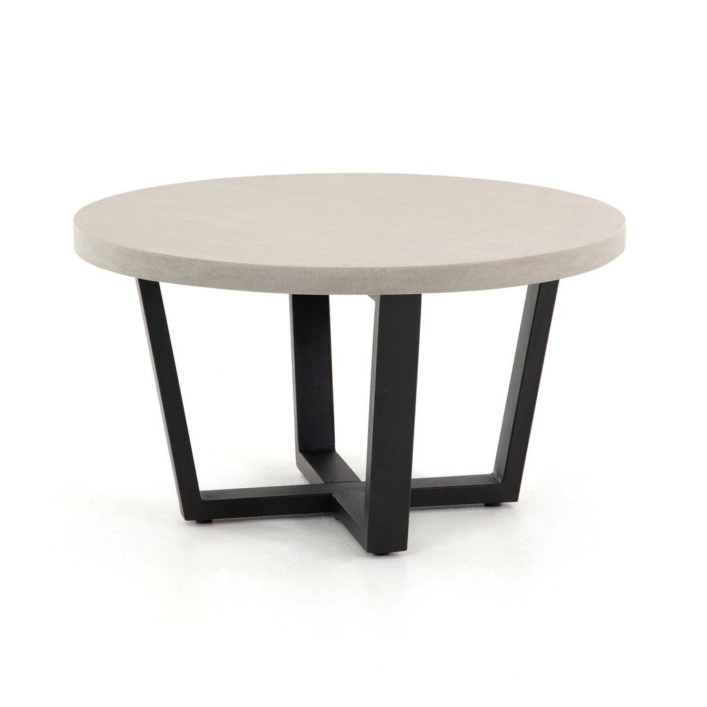 Cyrus Round Coffee Table In 2020 Coffee Table Round Coffee Table Coffee Table Grey