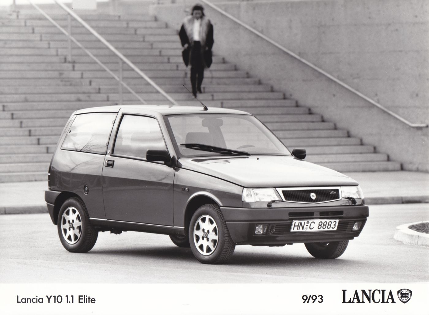 Lancia y10 11 elite 993 car factory press photos pinterest lancia y10 11 elite 993 vanachro Choice Image