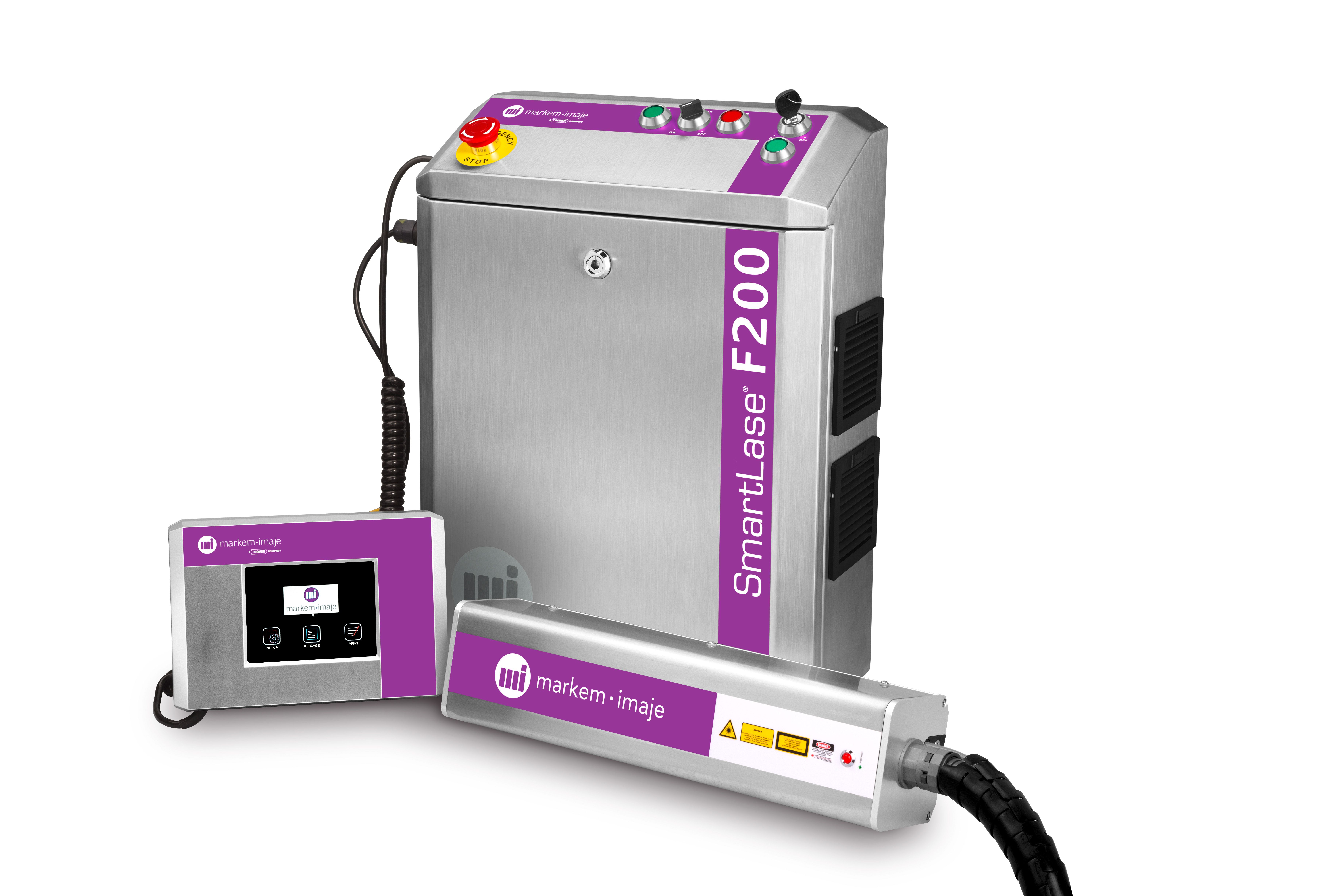 New Fiber Laser Coder from Markem-Imaje