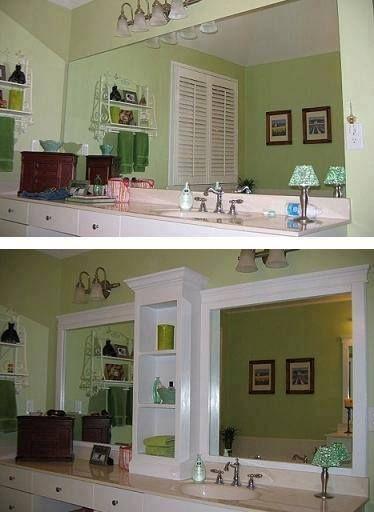 Diy Mirror Bathroom Ideas Pinterest Bathroom Large Bathroom