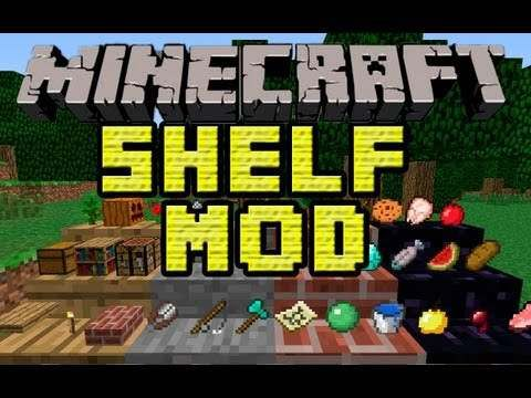 Download Shelf Mod 1 6 2 Mod For Minecraft 1 6 2 1 6 1 Minecraft Mods Minecraft Minecraft 1