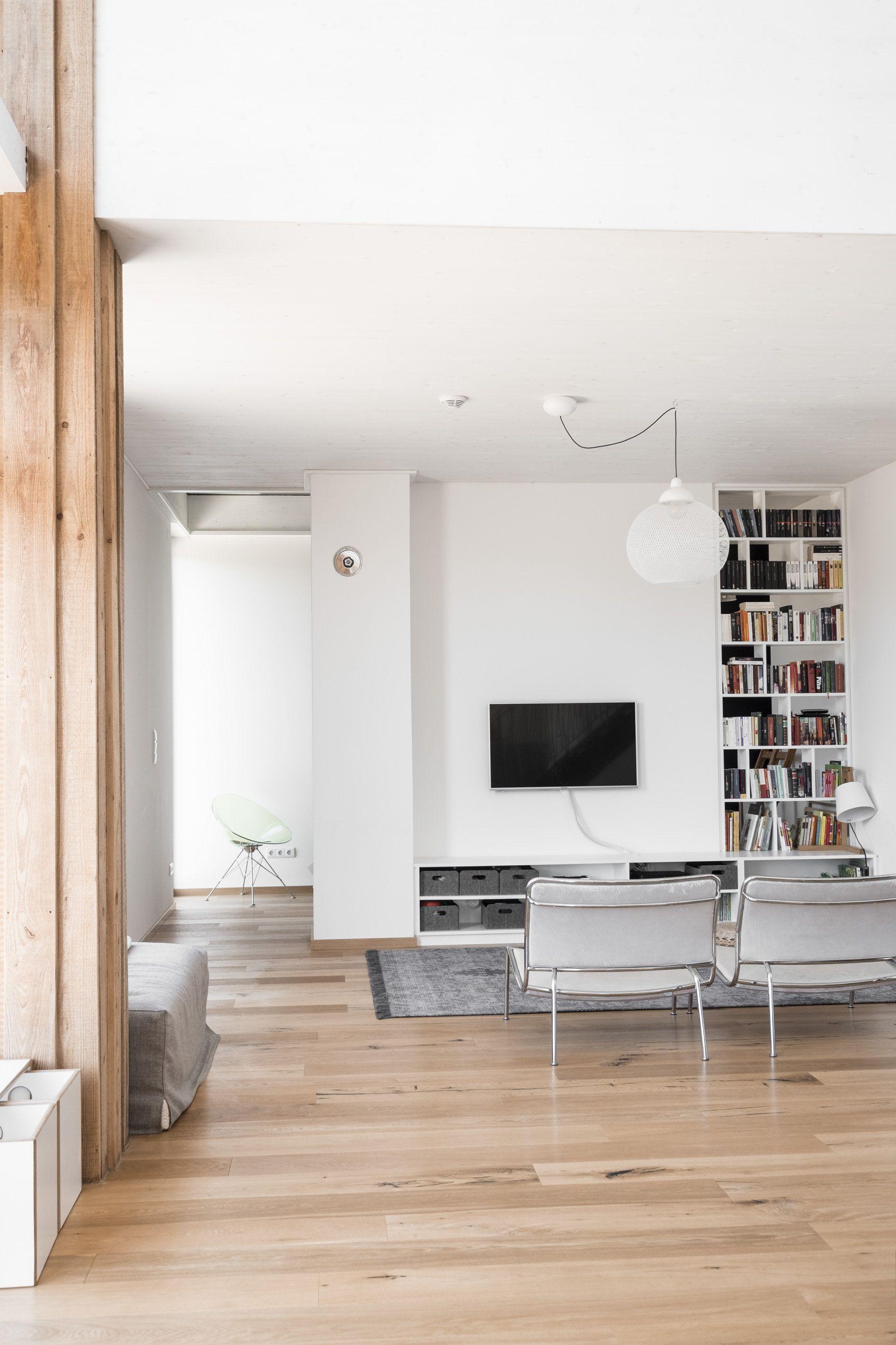House F On The Hillside Minimalist Interior Loft Apartment Industrial Interior