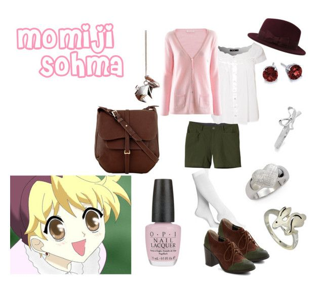 """Momiji Sohma"" by casualanime ❤ liked on Polyvore featuring Nordstrom, Patagonia, Sally&Circle, FTC Cashmere, BC Footwear, OPI, Steven Alan, Blue Nile, Origami Jewellery and tuleste market"